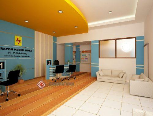 interior ruang pelayanan dan lobby