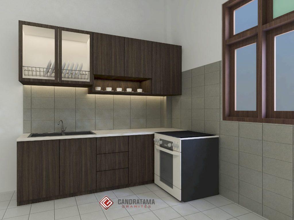 Desain Kabinet Dapur Di Manokwari Selatan Interior Rumah