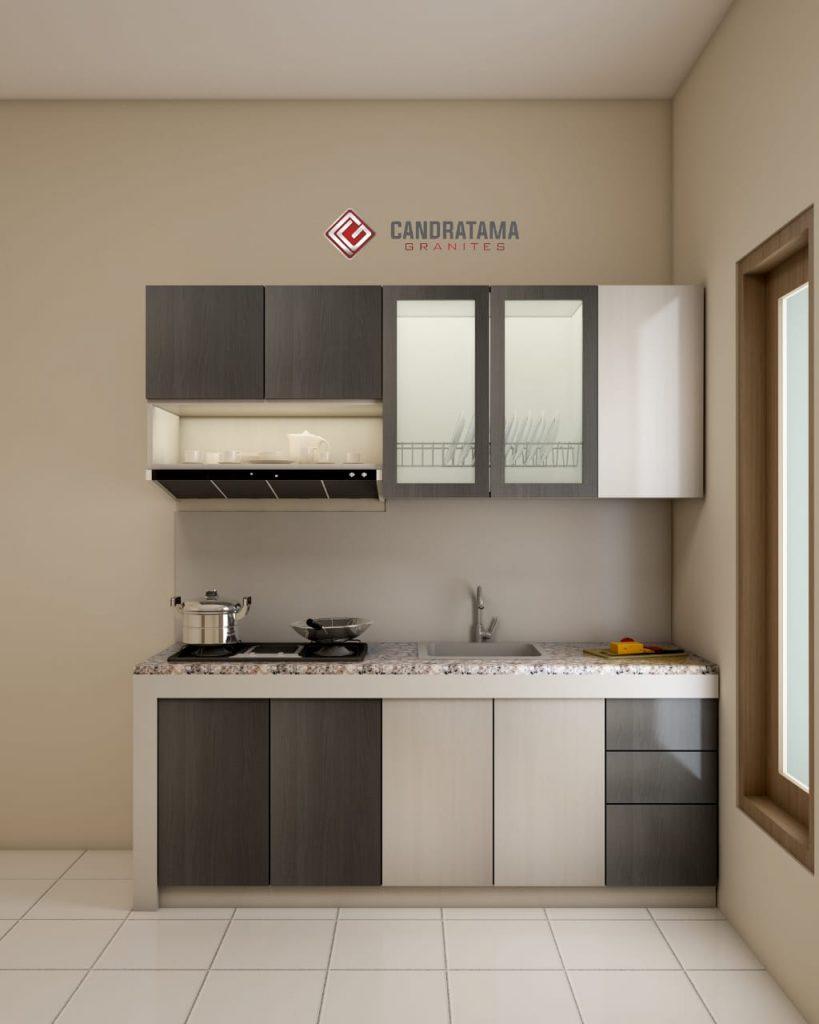 Dapur Mewah Elegan Dengan Kitchen Set Modern 081252474309