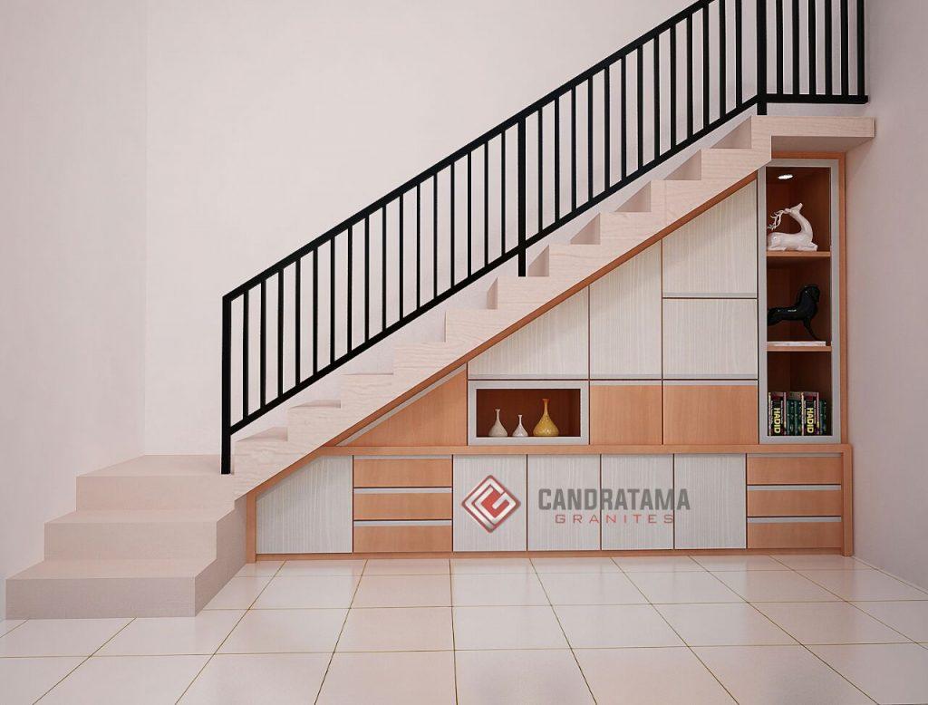 lemari rak bawah tangga