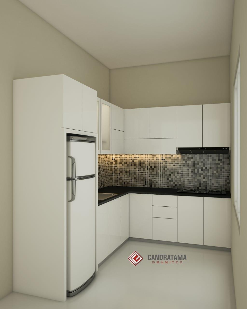 Gambar Kitchen Set Minimalis 2018 Interior Kediri 081252474309