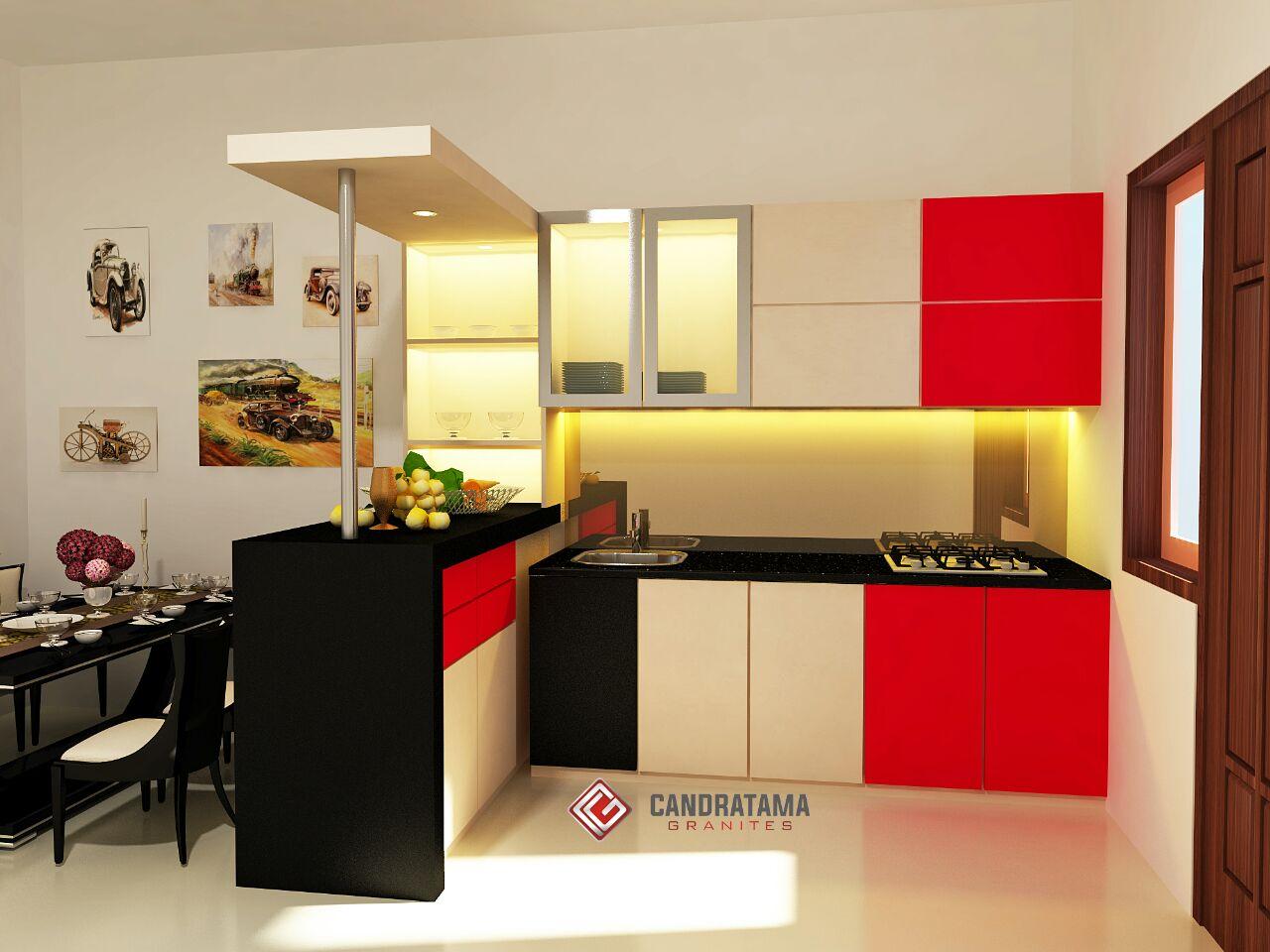 TIPS MINI BAR UNTUK RUMAH ATAU APARTEMEN kitchen set Trenggalek