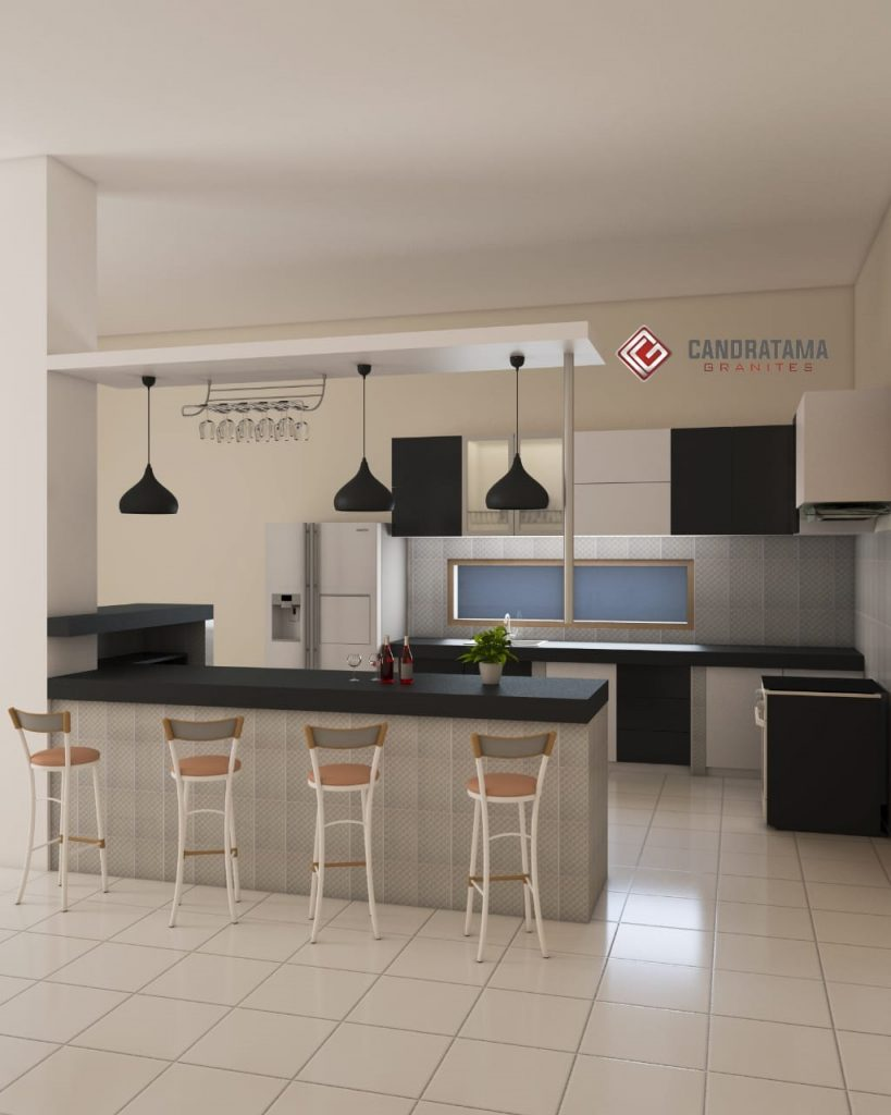 Interior Dapur Mewah Dan Elegan Dengan Kitchen Set 081252474309