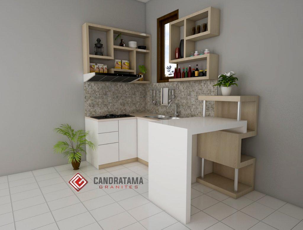 Meja Bar Minimalis Solusi Dapur Kecil di Irian Jaya