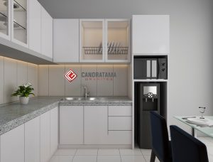 Kitchen Set Minimalis Untuk Dapur Kecil – Desain Interior Kediri