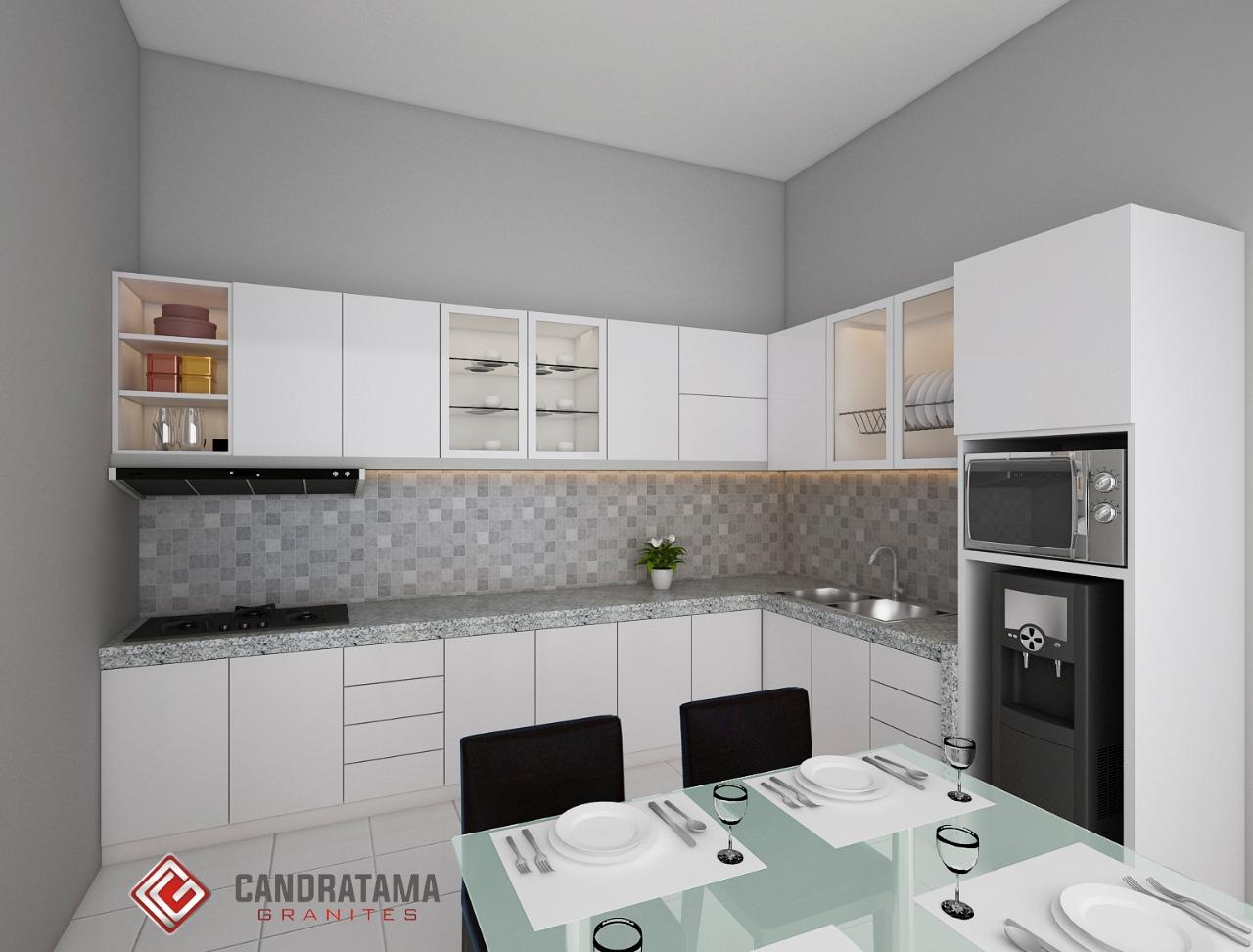 Tips Membersihkan Area Kitchen Set