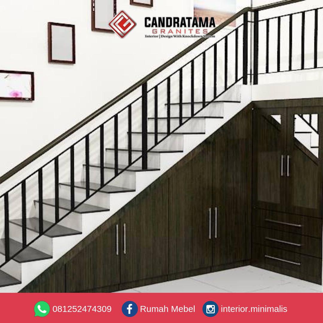 merancang interior bawah tangga