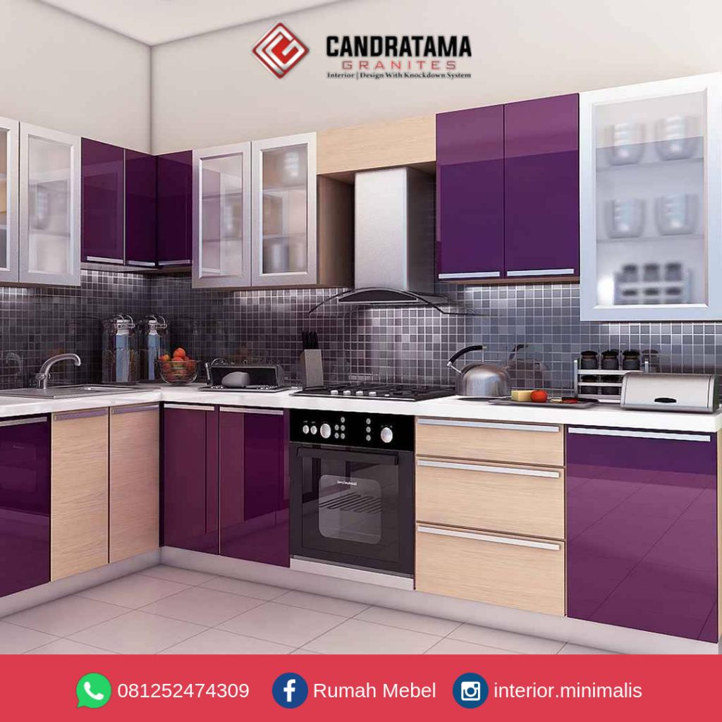 Kitchen Set Minimalis Untuk Dapur Kecil Trenggalek 081252474309