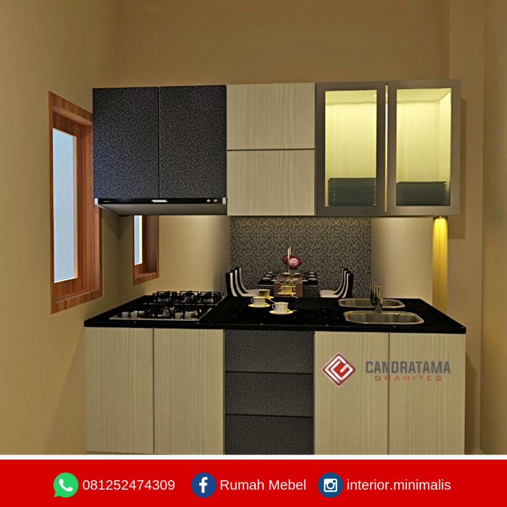 Mendesain Dapur dengan Kitchen set Minimalis