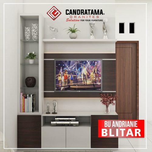 backdrop tv minimalis elegan
