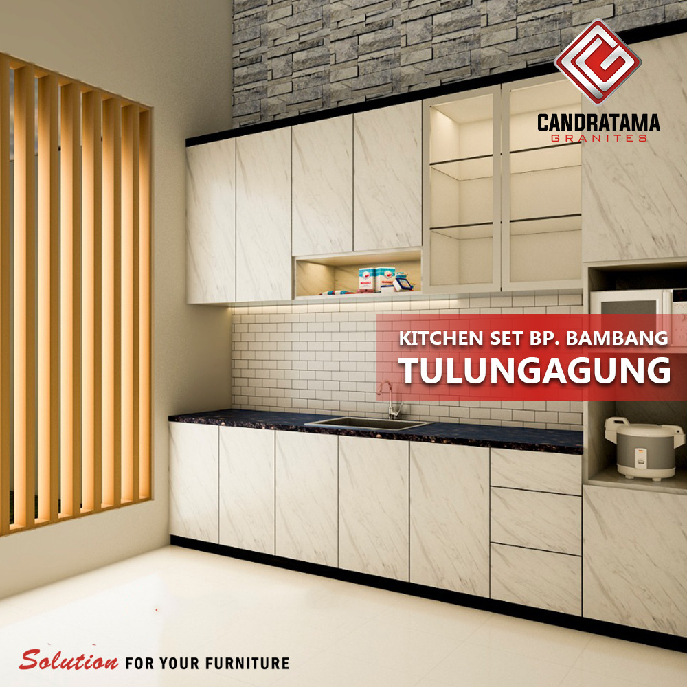desain kitchen set bapak bambang