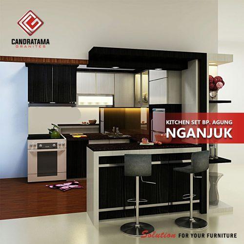 mini bar kitchen set minimalis