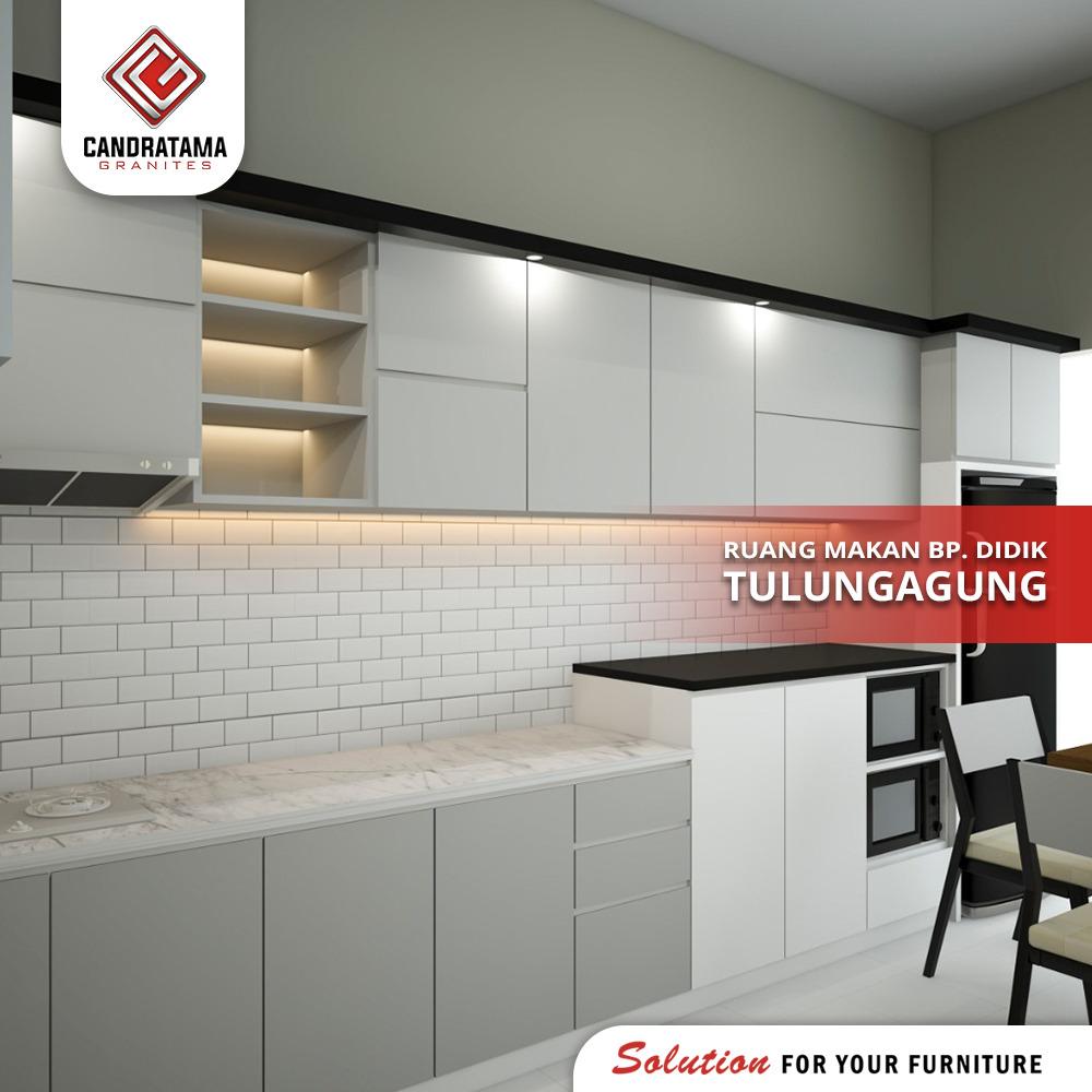 jasa interior kitchen set custom