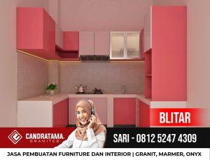 Desain Interior Kabinet Dapur Minimalis Elegan Solusi Rumah Kecil Blitar|0812 5247 4309