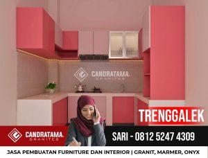 Desain Interior Kitchen Set Minimalis Modern Trenggalek Hub 081252474309