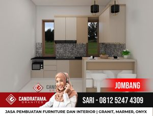 Batu Granit Impala Untuk Top Table Kitchen Set Minimalis Desain Interior Kediri